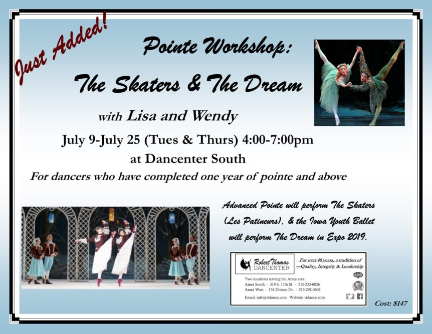 Summer 2019 Pointe Workshop